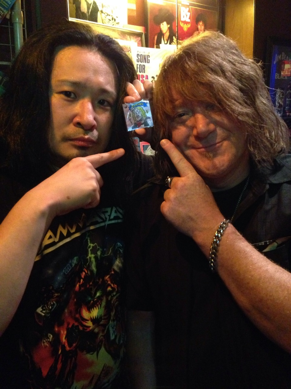 GAMMA RAY EMPIRE OF THE UNDEAD JAPAN TOUR 2014