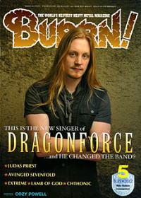「BURRN!!」2012年05月号に掲載されました